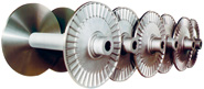 Figure (9): Beams adapted from http://www.scholze-germany.de/e_Products_Back-beams_Loom-beams_Canisters_Bobbins.htm