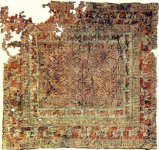 Figure (1): The Pazyryk Carpet