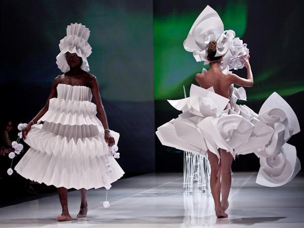 Origami Fashion Uttu Textiles